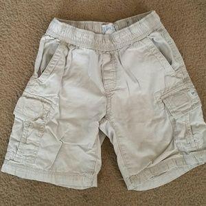 Children's Place khaki cargo shorts